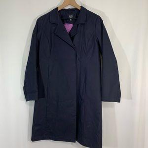 Eileen Fisher Navy Trench Coat / Medium